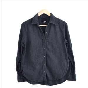 Wilfred Free Solid Flannel Shirt